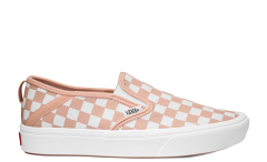 Vans ComfyCush Slip-On Checkerboard Spanish Villa / White