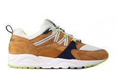 "Karhu Fusion 2.0 ""Catch of the Day"" Buckthorn Brown / Blue Flower"