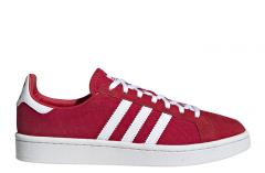 Adidas Womens Campus Scarlet / Footwear White