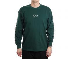 Polar Skate Co. Racing Longsleeve Dark Green