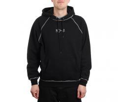 Polar Skate Co. Contrast Default Hoodie Black / White