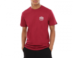 Vans Holder Street II Tee Rhumba Red / White