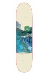 Seven Inch Skateboards Kivi Aquarel 8.3