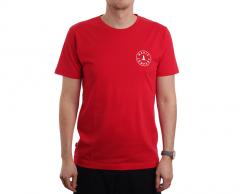 Makia Astern Backprint Tee Red