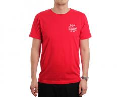 Makia Civil Tee Red