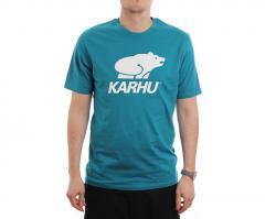 Karhu Basic Logo Tee Ocean Depts / White