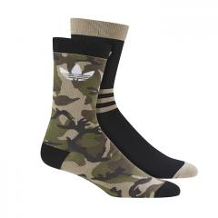 Adidas Camouflage Crew Socks 2-Pack