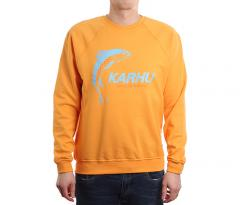 "Karhu X R-Collection ""Catch of the Day"" Sweatshirt Tangerine / Tourmaline"