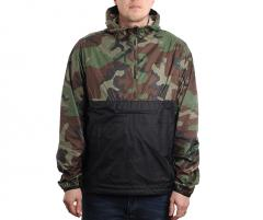 Nike SB Camo Anorak Jacket Medium Olive / Black