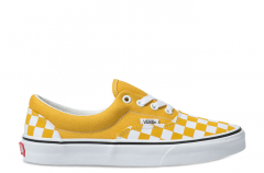 Vans Checkerboard Era Yolk Yellow / True White