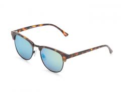 Vans Dunville Sunglasses Cheetah Tortoise / Turquoise