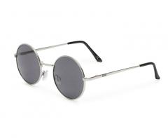 Vans Gundry Sunglasses Matte Silver / Dark Smoke