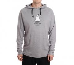 Makia X Moomin Kylpy Hooded Sweatshirt Grey