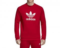 Adidas Trefoil Crew Sweatshirt Power Red