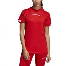Adidas Womens Coeeze Tee Active Red