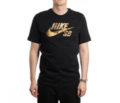 Nike SB Logo Skate Tee Black