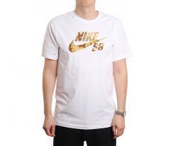 Nike SB Logo Skate Tee White
