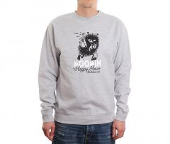 MOOMIN By Happy Hour Skateboards Stinky Crewneck Grey Heather