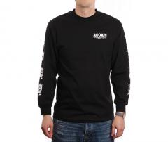 MOOMIN By Happy Hour Skateboards Stinky Longsleeve T-Shirt Black
