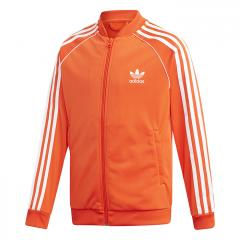 Adidas Junior SST Track Jacket Active Orange / White