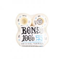 Bones Wheels 100´s #12 V4 White 53mm