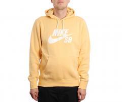 Nike SB Icon Hoodie Celestial Gold / Summit White