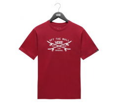 Vans Youth Skate Lock Up Tee Rhumba Red