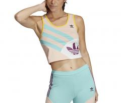 Adidas Womens Sportive 90's Cropped Tank Top Vapour Pink