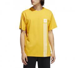 Adidas Originals BB Pillar Tee Active Gold / White