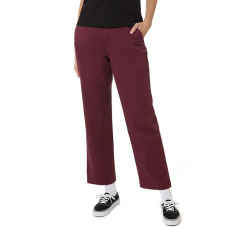 Vans Womens Authentic Chino Trousers Prune