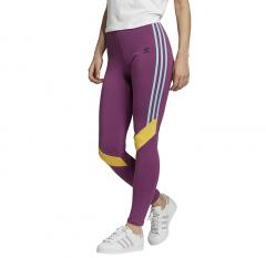 Adidas Originals Womens High Waisted Tights Rich Mauve