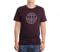 Makia Scope Tee Wine