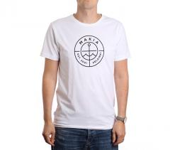 Makia Scope Tee White