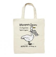 Makia Whooper Tote Bag Ecru