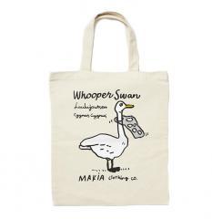 Makia Whooper Tote Bag Ecru
