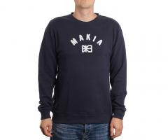 Makia Brand Sweatshirt Dark Blue