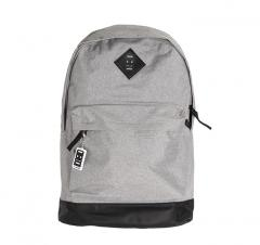 Mon Mon Classic Backpack Heather Grey