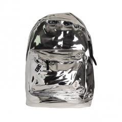 Mon Mon Foil Backpack Silver