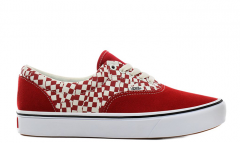 Vans Era Comfycush (Tear Check) Racing Red / True White
