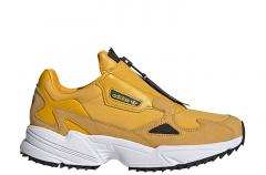 Adidas Womens Falcon Zip Active Gold / Core Black / Cloud White