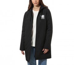 Vans Womens Alli Sidestripe Windbreaker Jacket Black