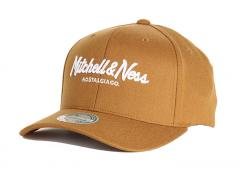 Mitchell & Ness Pinscript 110 Snapback Cigar Brown