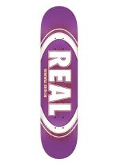 Real Oval Burst Deck Purple 8.25