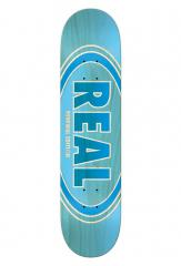 Real Oval Duo Fades Deck Light Blue 8.5