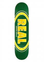 Real Oval Duo Fades Deck Green 7.75