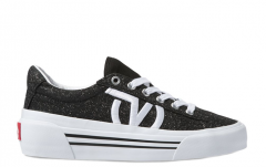 Vans Glitter Sid Ni Black / True White