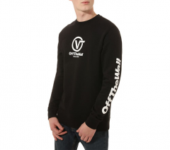 Vans Distorted Performance Crew Sweater Black