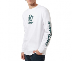 Vans Distorted Performance Crew Sweater White