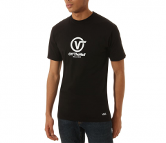 Vans Distorted Performance Tee Black