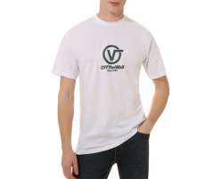 Vans Distorted Performance Tee White